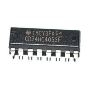 CD74hc4053e 74hc4053n 74hc4053 Triple 2-Channel Analog Multiplexer/Demultiplexer IC pictures & photos