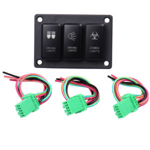 Driving Light Panel Switch for Toyota Rocker Switch DC 12V pictures & photos