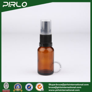 15ml Amber Glass Spray Bottles with Black Lotion Sprayer pictures & photos