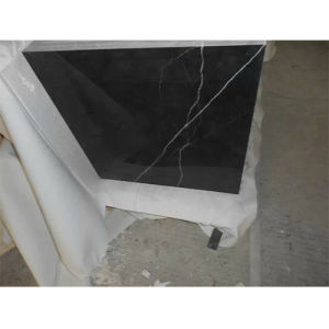 Black Marquina Tile, Black Marble, Chinese Marble Tiles pictures & photos