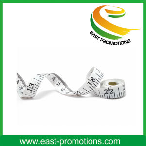 Customized Printing Circle Shape Mini Soft Tape Measure pictures & photos