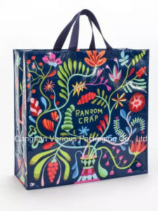 Custom Printed Laminated Non Woven Bag, Shopping Tote Bag pictures & photos