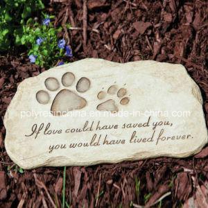 Resin Garden Stepping Stone of Garden Pet Devotion pictures & photos
