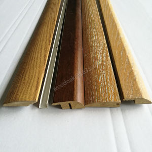 MDF Wrapped Wood Veneer Reducer for Flooring pictures & photos