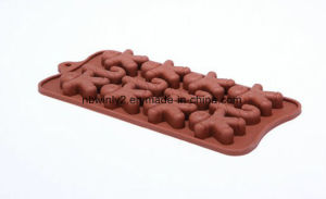 Ginger Man Chocolate Silicone Mould pictures & photos
