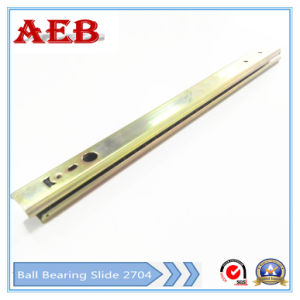 Aeb-27mm Double Type of Double Extension Ball Bearing Drawer Slide pictures & photos