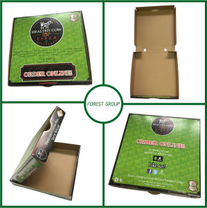 2 Color Printing Pizza Packing Box (FP02000111) pictures & photos