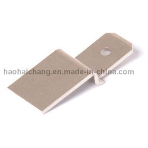 Custom Made Metal Stamping Tin Plated Terminal Pin Brass pictures & photos