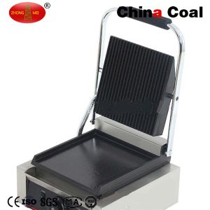 Countertop Electric Single Sandwich Grill Press pictures & photos
