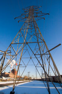 Solid Fashion Steel Transmission Tower pictures & photos