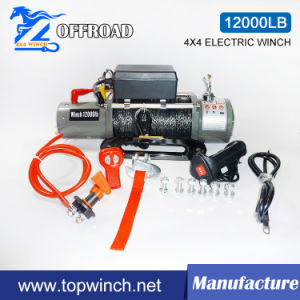 SUV 4X4 Electric Winch with Wireless Remote Control Kit (12000lbs-1) pictures & photos