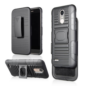 2017 Wholesale for LG M250 Case High Quality Hard Rugged Shock Proof Heavy Duty Case with Belt Clip pictures & photos