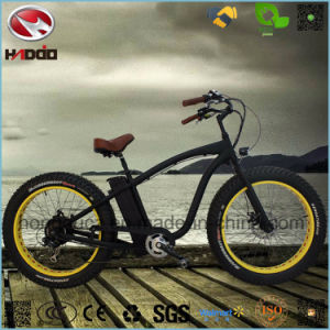 750W Rear Motor Fat Tire Electric Beach Bike for Adult pictures & photos