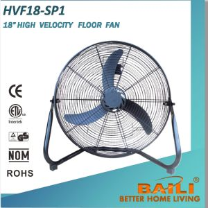 """18"""" High Velocity Floor Fan Industrial Fan with 3 Speeds pictures & photos"""