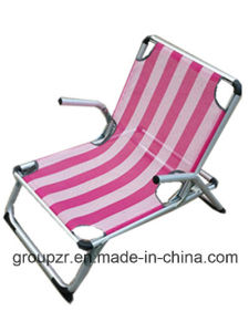 Outdoor Folding Beach Chair Leisure Chair with Armrest pictures & photos