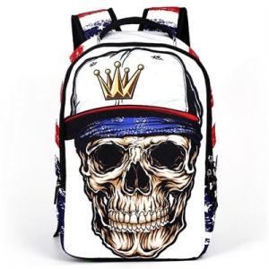 2017 New High School Students Skeleton Bag / Trend Backpack / Travel Bag / Backpack (GB#CH1505-D2) pictures & photos