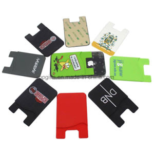 Hot Selling Silicon Mobile Phone Card Holder pictures & photos