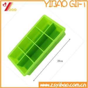 Kitchenware Make Makes 8 Extra Large Cubes Square Silicone Ice Cube Tray pictures & photos