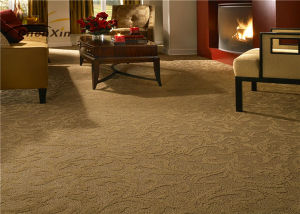 Commercial Floor Carpet Machine Woven Wool / Silk Blend pictures & photos
