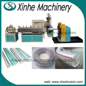 PVC steel Reinforced Hose Production Line/12-25mm Pipe Extrusion Line/Plastic Extruder pictures & photos