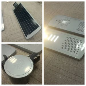 15W Intelligent Infrared Induction Solar Powered LED Street Lamp for Garden pictures & photos
