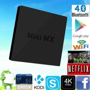 4G Minimx S905X 2g 16g Video Kodi 17.0 TV Box pictures & photos
