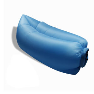 Outdoor Nylon Fabric Inflatable Hangout Portable Air Bag Sofa Lounger pictures & photos