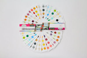 Professional Standard Wall Paint Circle Shape Painting Fandeck pictures & photos