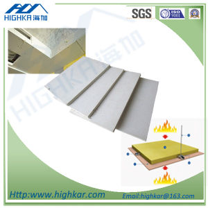 No-Asbestos Fibre Cement Siding Sheet 9mm Thick for Fire Partition Wall pictures & photos