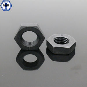 DIN934 Hex Nuts Cl8 Black Finish pictures & photos
