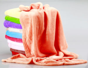 Soft Queen Fleece Bed Blanket pictures & photos