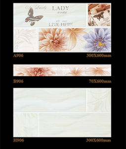 6D Inkjet Interior Wall Tile Ceramic Tile for Building Material 300X600mm pictures & photos