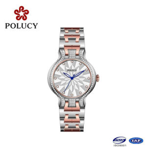New Design All Stainless Steel Quartz Lady Watch pictures & photos