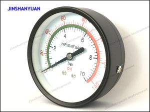 Gpg-017 Dry Pressure Gauge/Back Mounted General Manometer pictures & photos