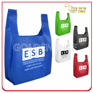 Promotional Customized Logo Shopping Nonwoven Bag pictures & photos