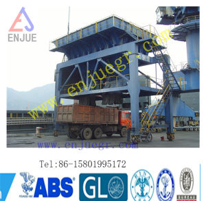 Dust Proof Hopper with Conveyor Belt Feed Dust-Trap Hopper for Port Unloading Bulk Cargo pictures & photos