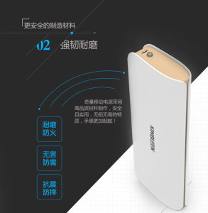 Kingleen-C397s Power Bank 10000mAh High Quality for Phone, Dual USB 2A Output pictures & photos