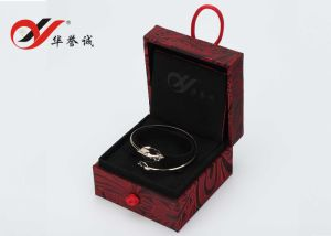 Knot Opening Red Cloth Jewelry Box Set pictures & photos