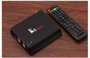 DVB-T DVB-T2 DVB-S2 Android TV Box Loaded Quad Core Bluetooth HD 4k S905 TV Box pictures & photos
