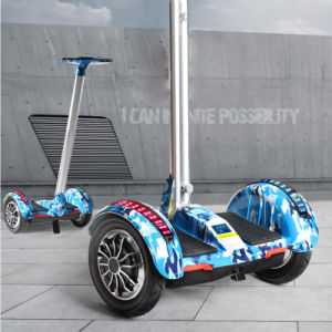 Wind Rover Two Wheel Electric Scooer 10 Inch Hoverboard with LED pictures & photos