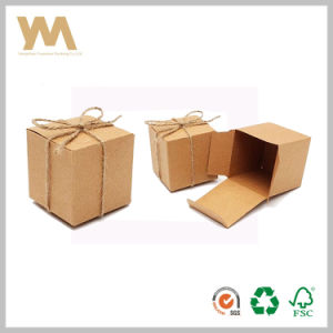 Square Kraft Paper Pckaging Box for Gift pictures & photos