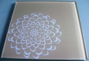 Silkscreen Printing Glass /Lacquered Glass for Bars and Restaurants pictures & photos