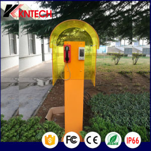 Noise Reduction Acoustic Hood Telephone Booth for Public Telephone pictures & photos