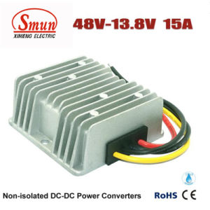 Waterproof 48VDC to 13.8VDC 15A 207W DC DC Buck Converter pictures & photos