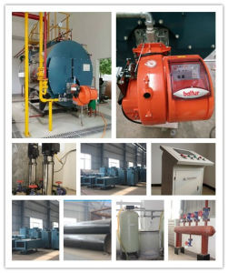 Glory Wns Series Horizontal Gas Oil Steam Boiler Price pictures & photos