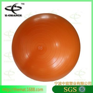 Exercise Ball with Pump and Ball Base Sale Fitness Yoga Pilates Ball pictures & photos