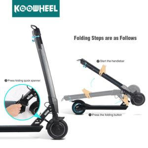 OEM ODM Drop Shipping 2 Wheel Electric Folded Bike Scooter pictures & photos