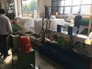 Jc-200 Crushing Type EPE Plastic Recycling Machine Extruder Machinery High Output pictures & photos