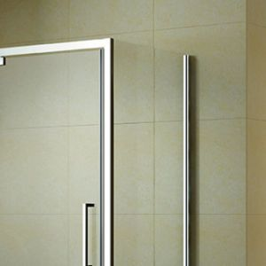Aluminum Frame Pivot Shower Door with Acrylic Shower Tray (K-P12) pictures & photos