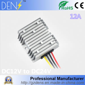 DC DC 12V up 24V 12A Converter with Waterproof pictures & photos